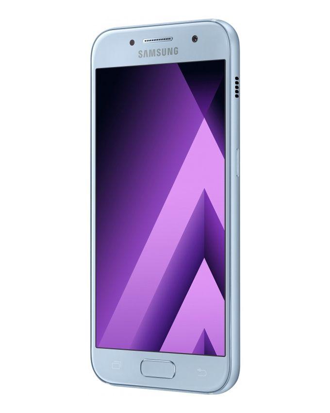 Galaxy A7 (2017) - 5.7 Single SIM 4G Mobile Phone - Blue Mist