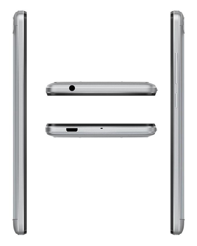 موبايل L8 Lite - شاشة 5.0 بوصة - ثنائي الشريحة - فضي