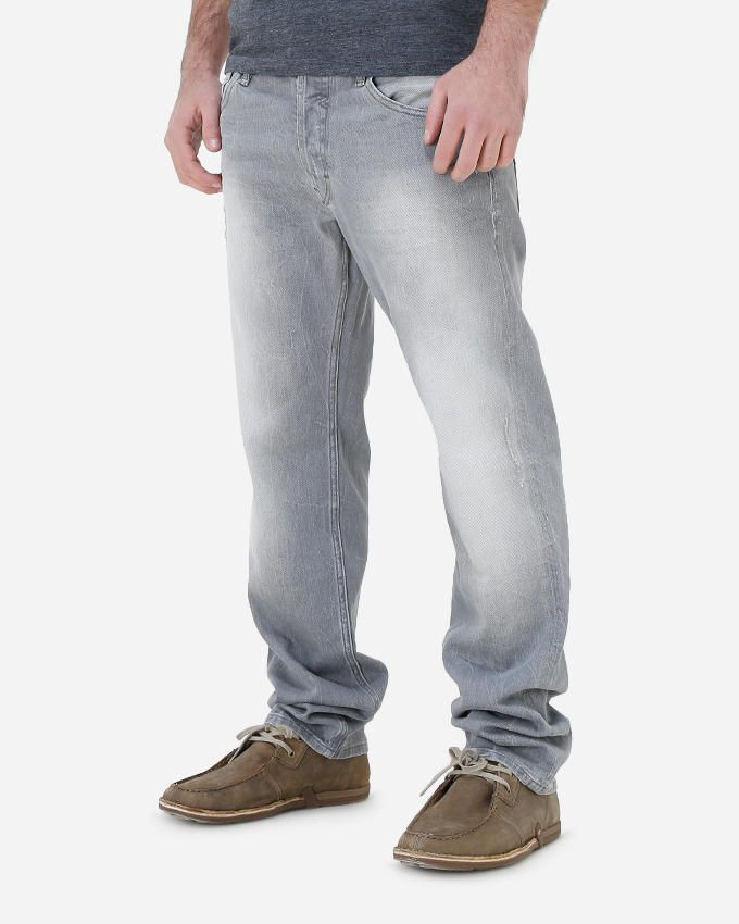 Guess Skinny Cold Grey Denim Pant - Grey