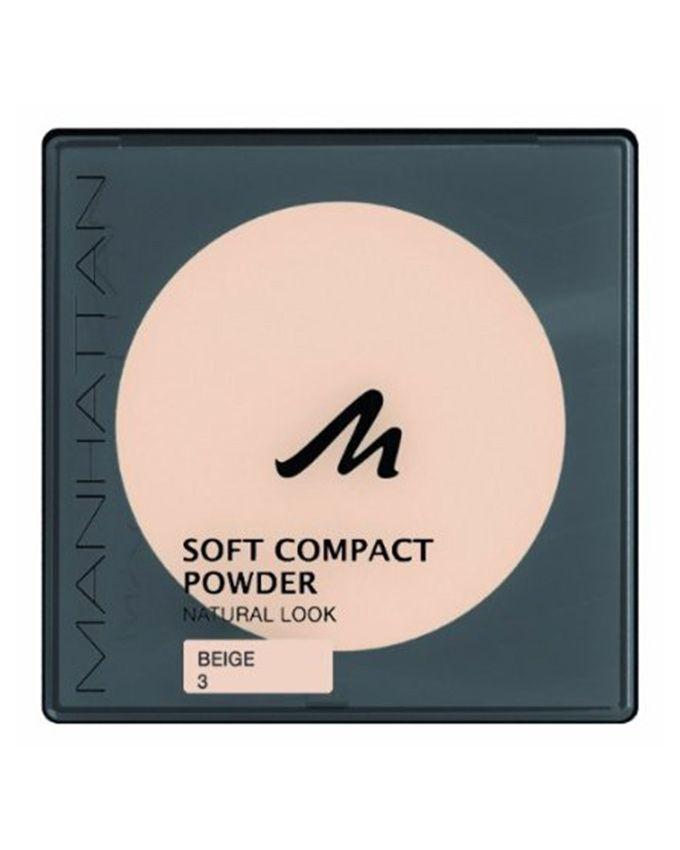 Soft Compact Powder – 3 Beige