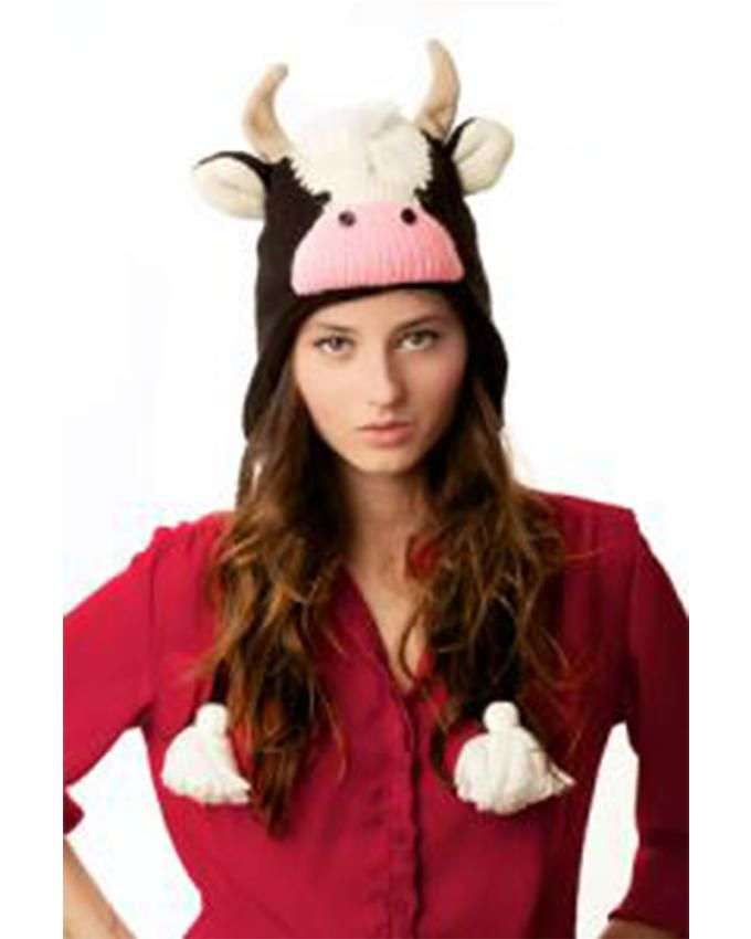 Panda Hats HB-WH062 Knit Mad Cow - Multicolor
