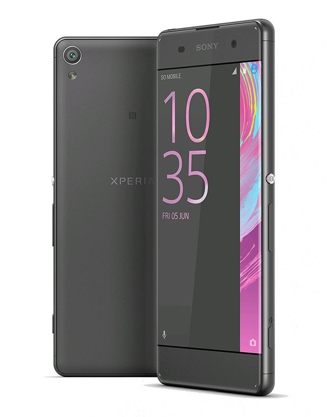 Xperia XA - 5.0 - 4G Mobile Phone - Graphite Black
