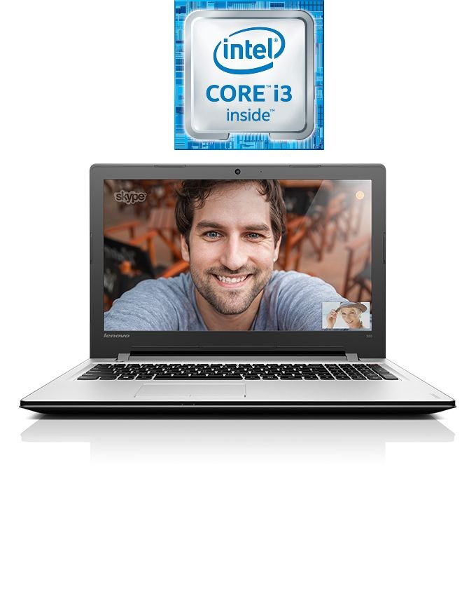 Ideapad 110-15ISK Laptop - Intel Core i3 - 4GB RAM - 1TB HDD - 15.6 HD - Intel GPU - DOS - Silver