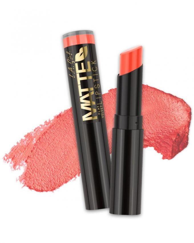 Matte Flat Velvet Lipstick - Sunset Chic