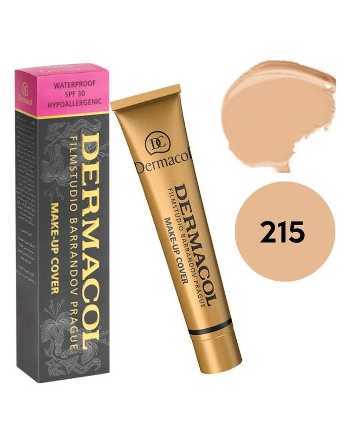 215 Waterproof Make-Up Cover Foundation - 30g