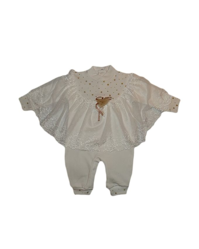 Baby Girl Jumpsuit - Off White
