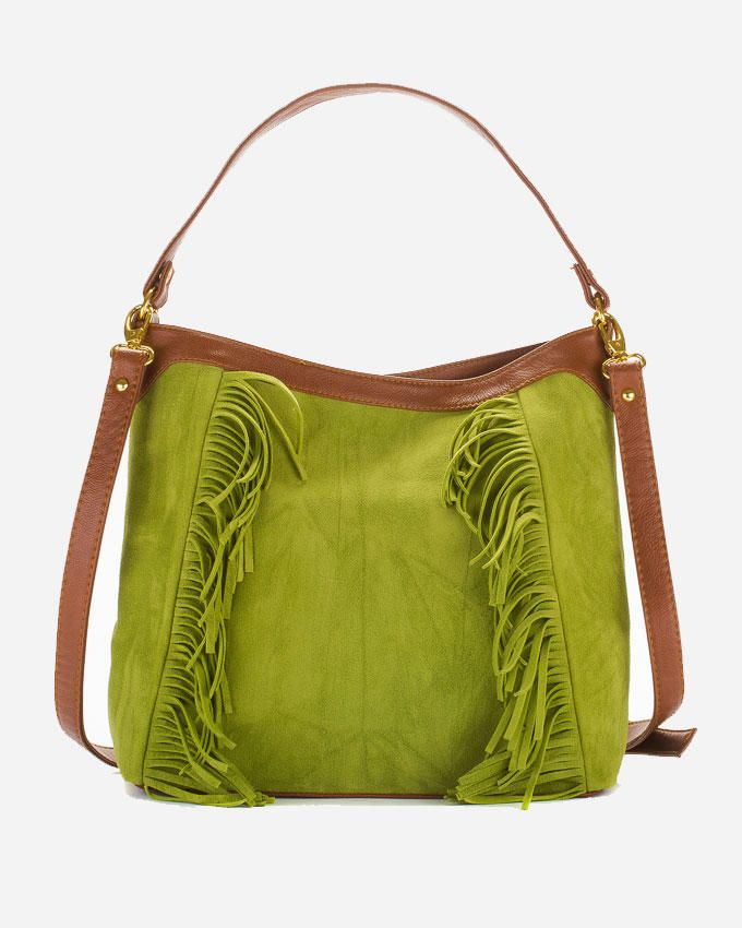 Deeda Hippie Hand Bag - Green