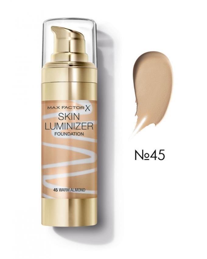 Skin Lumizier Foundation - 45 Warm Almond
