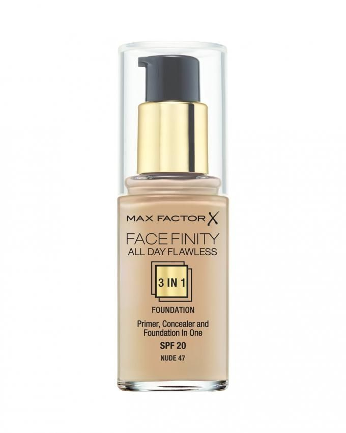 Face Finity 3 IN 1 Foundation - 47 Nude
