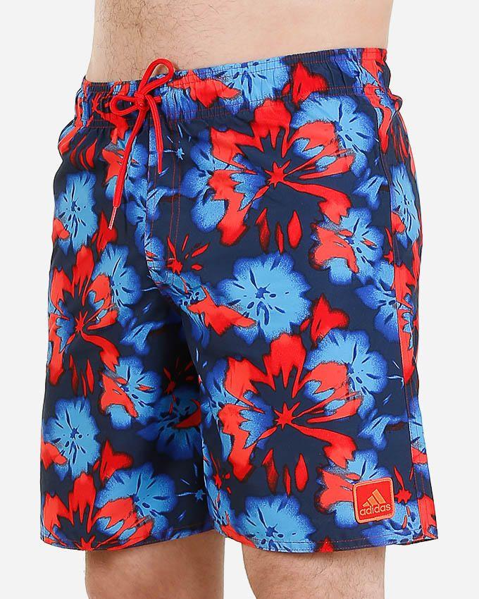 Adidas ORG SH ML Swim Short - Navy & Coral