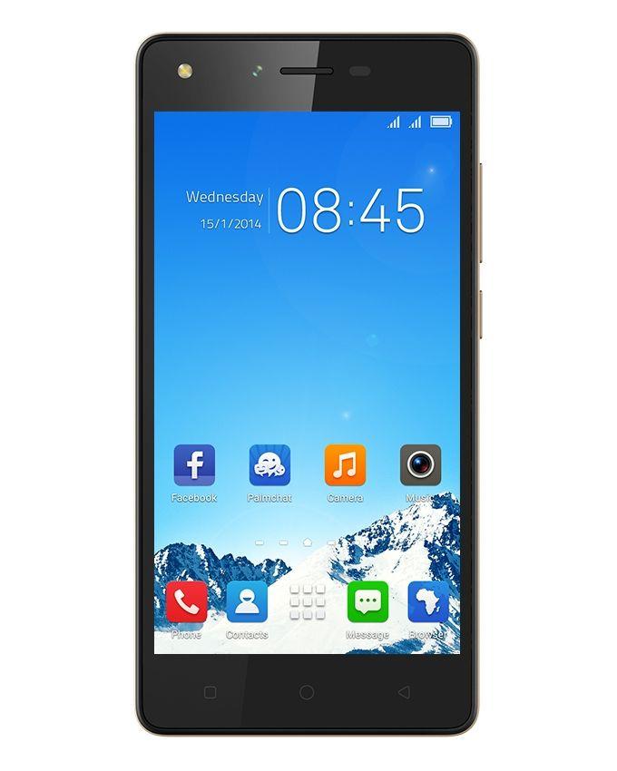 L8 Lite - 5.0 Dual SIM Mobile Phone - Champagne Gold