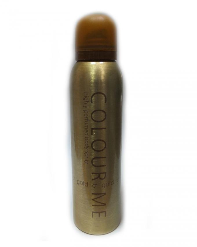 Highly Perfumed Body Spray - Gold - For Men - 150 ml