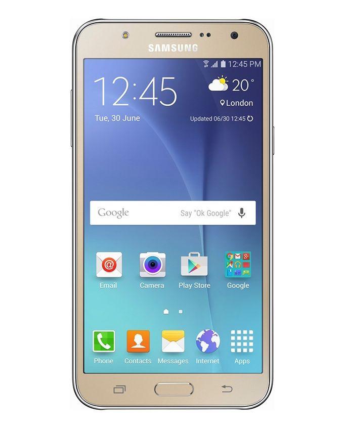 هاتف جالاكسى J7 - 5.5 بوصة - ثنائى الشريحة - ذهبى