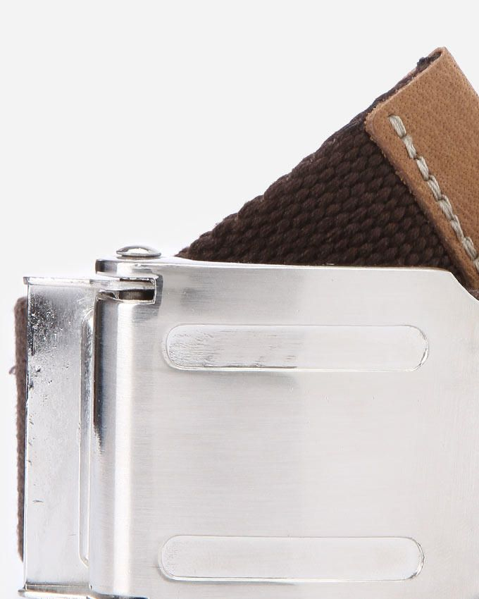 Textured Belt - Brown