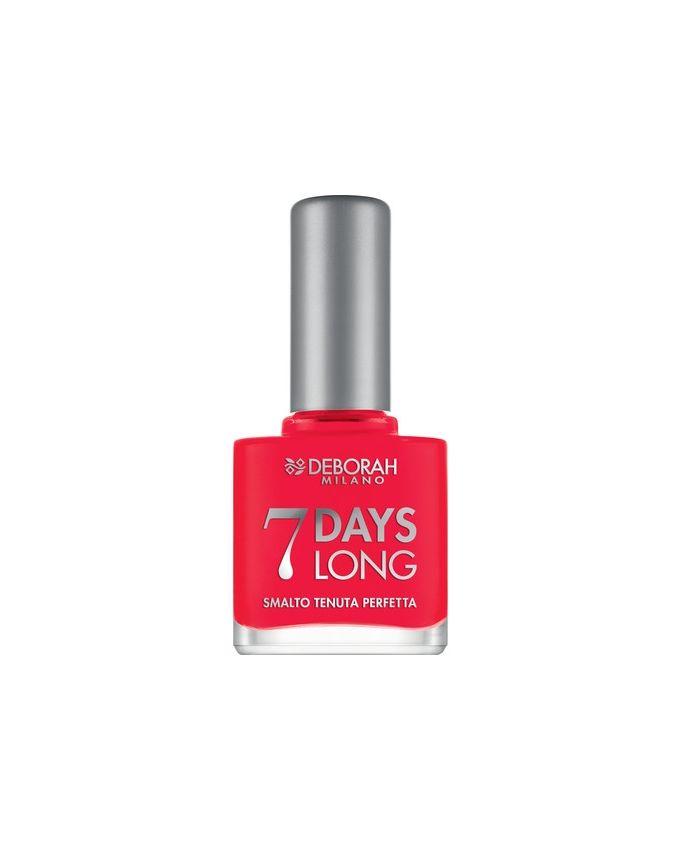 7 Days Nail Polish - 870 Coral Red
