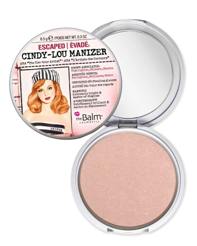 Cindy-Lou Manizer Shadow & Shimmer - Peachy Pink