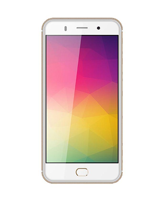 Send C5 - 5 3G Dual SIM Mobile Phone - Gold