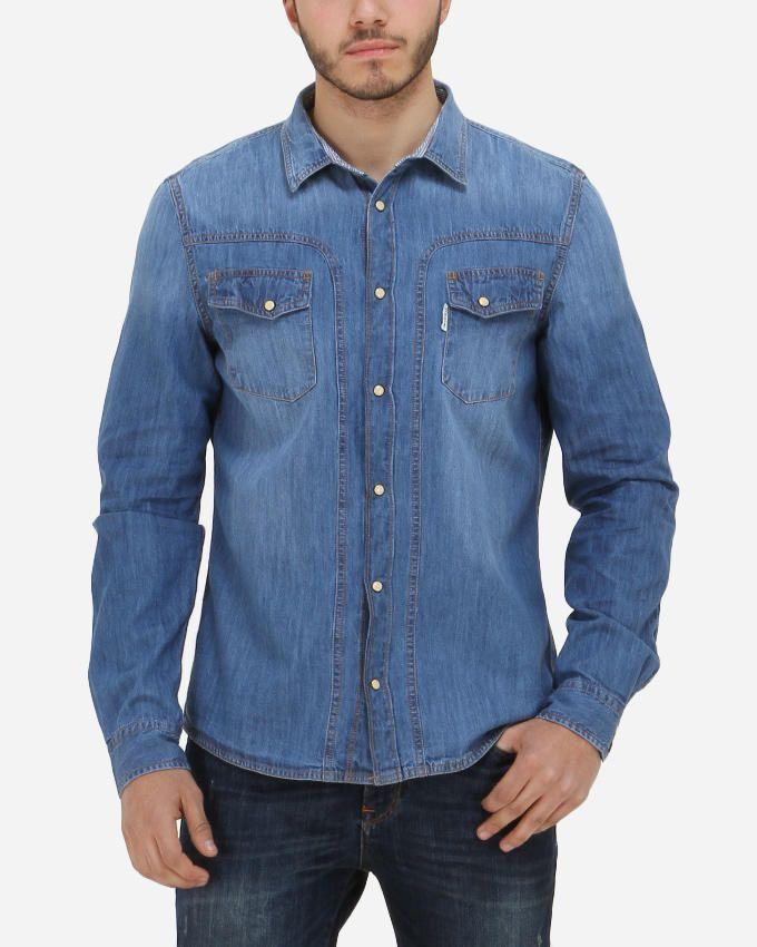 Guess David Denim Shirt - Blue
