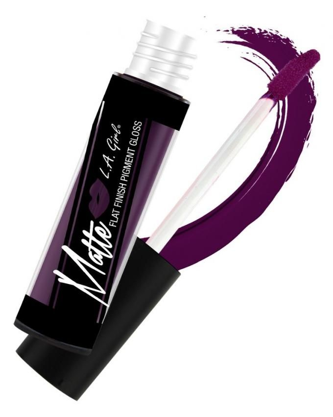 Matte Pigment Lip Gloss - GLG846 Black Currant