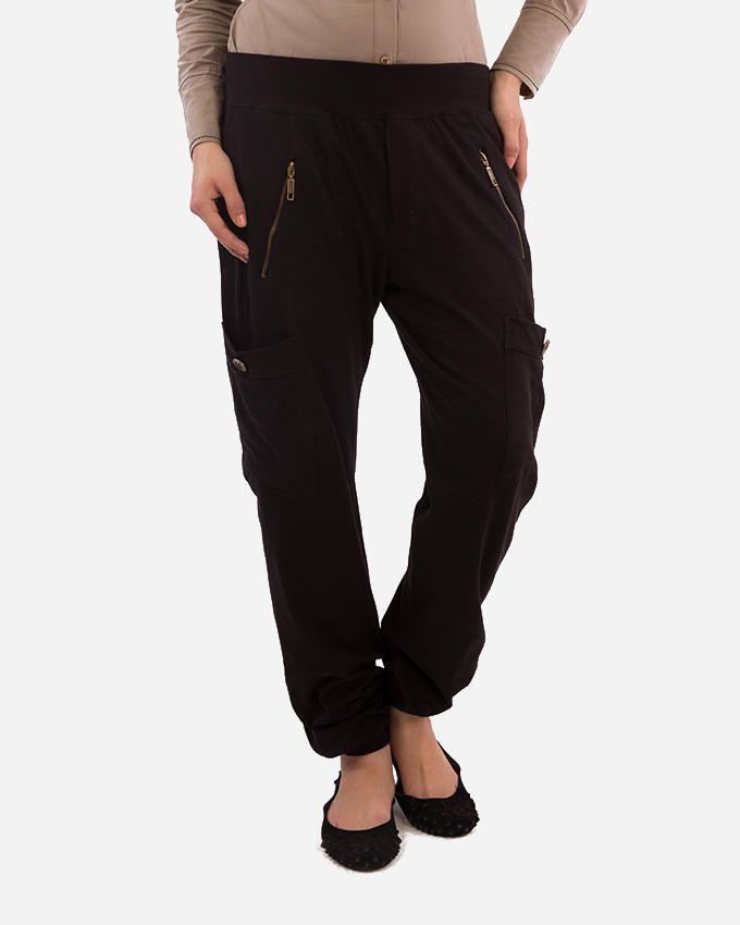 Glow Pants light Zippers - Black