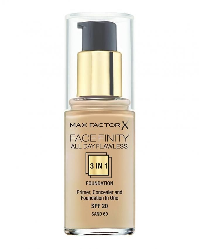 All Day Flawless 3 IN 1 Foundation - Sand 60