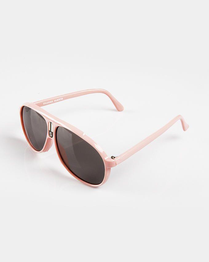 Ticomex Aviator Style Kids Sunglasses - Baby Pink