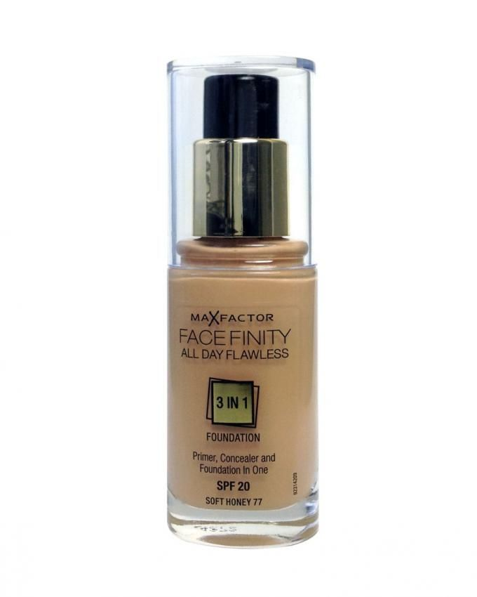 Face Finity  3 IN 1 Foundation - 77 Soft Honey