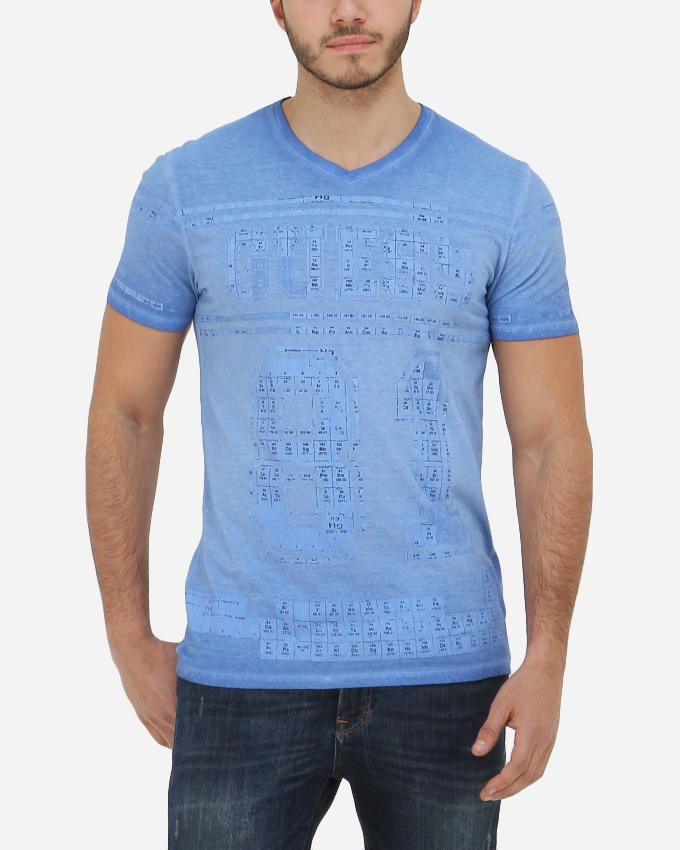 Guess Hydro Tee - Heather Baby Blue