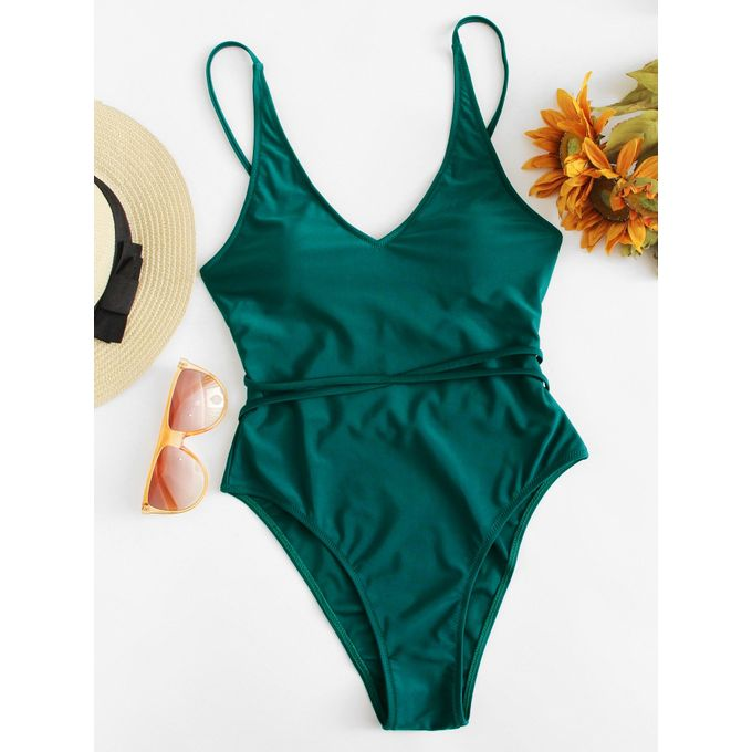 588d56ccd6 Sale on Twist Detail Solid Swimsuit   Jumia Egypt