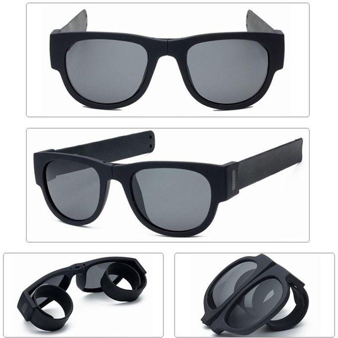 78c74dab1 Creative Wristband Glasses Polarized Sunglasses Driving Goggles Snap  Bracelet