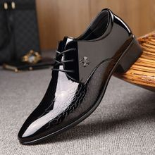 f1b2690da 2018 New Men's Dress Formal Oxfords Leather Shoes Business Casual Shoes