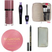 2b726335306c8 Rouge Velevet + Blush + Mascara + Contour Eyeliner + FREE Make Up Kit