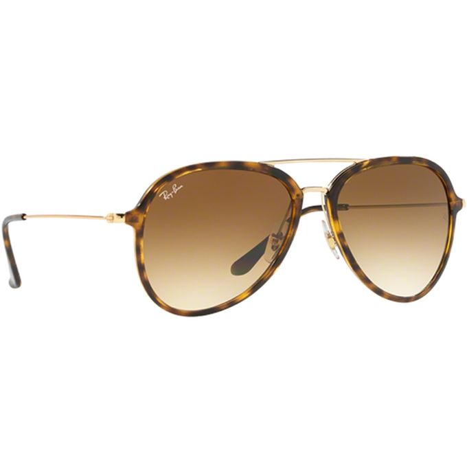 9348986dfb5 Ray-Ban Contemporary Aiator Sunglasses In Brown Gradient RB4298 710 51