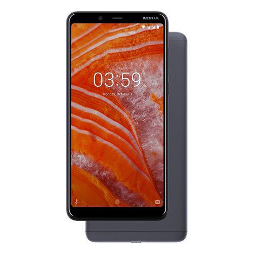 موبايل نوكيا Nokia 3.1 Plus موبايل 6.0 بوصة - 32 جيجا - رمادي Baltic من جوميا نوكيا