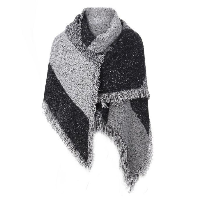 2d5778342dba ZANZEA Pashmina Cashmere Stole Scarves Shawl Wraps Winter Women Thick Warm  Wool Capes - Intl