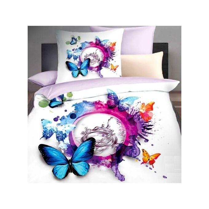 Butterfly Bedlinen Set – 5 Pcs – Multicolored –  مصر
