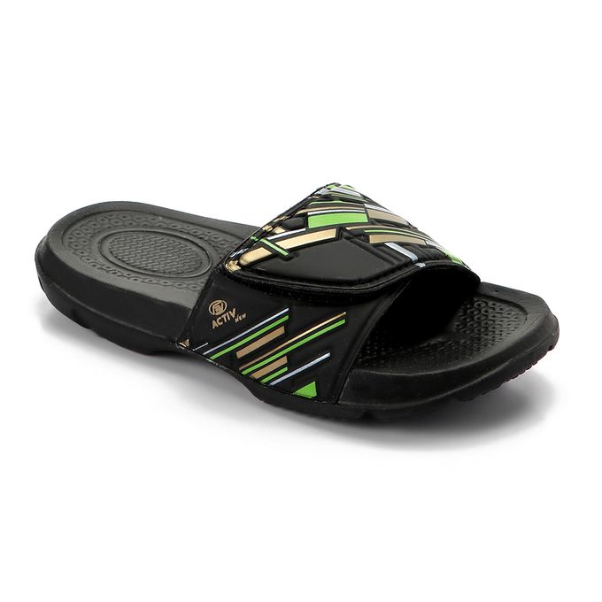 2b2a005072b3 Order Boys Slip On Rubber Slippers - Black at Best Price - Sale on ...