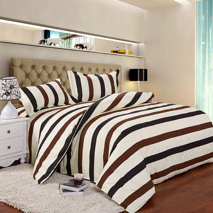 Double Size Quilt Bedding Bedclothes Duvet Cover Pillow Case Set –  مصر
