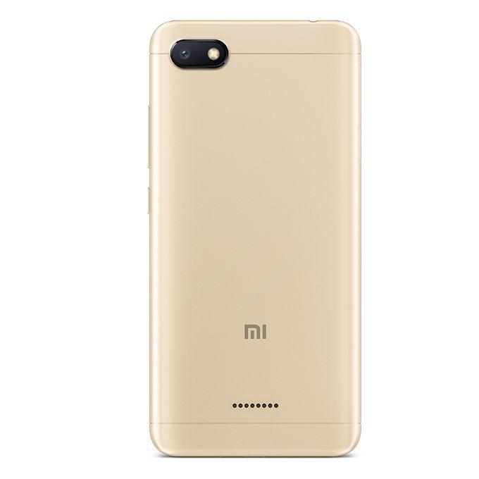 XIAOMI Redmi 6A موبايل 5.45 بوصة - 16 جيجا - 4G - ذهبي