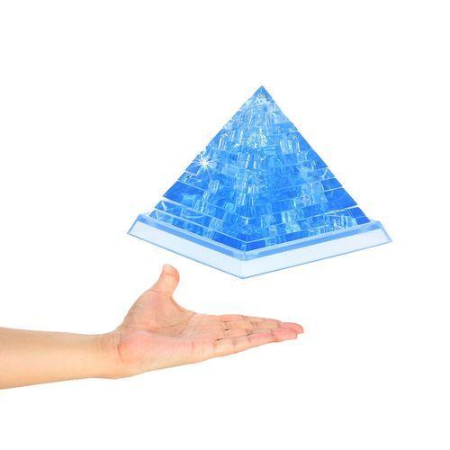 Schoolcool 3D Crystal Puzzle Cute Pyramid Model DIY Gadget Blocks Building Toy Gift