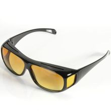 42b1ab31ba9 HD Lenses Unisex Sunglasses UV Protection Night Vision Driving Glasses  Yellow