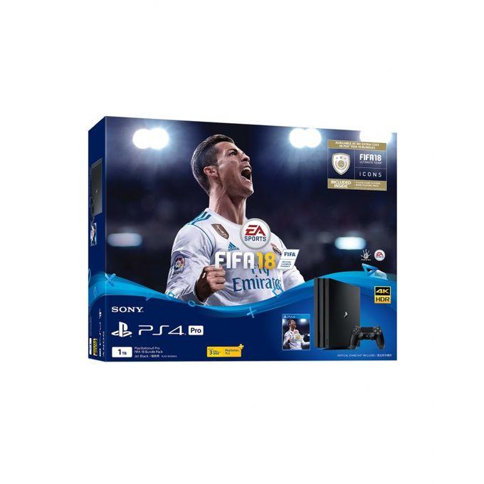 PlayStation 4 Pro 1TB FIFA 18 Bundle