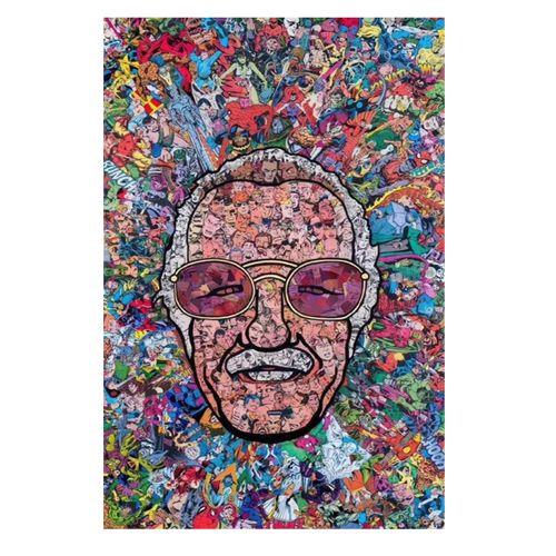 Stan Lee Movies Super Heroes Poster Wallpaper Wall Art Home Bar Decor Paper