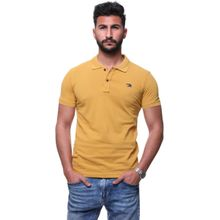 dee234736 Men  039 s Short Sleeves Polo Shirt - 5020 Yellow