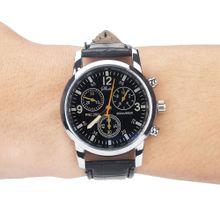 730817944ec22 Hiamok Blue-ray glass neutral quartz simulates wrist epidermal Leather  Strap watch