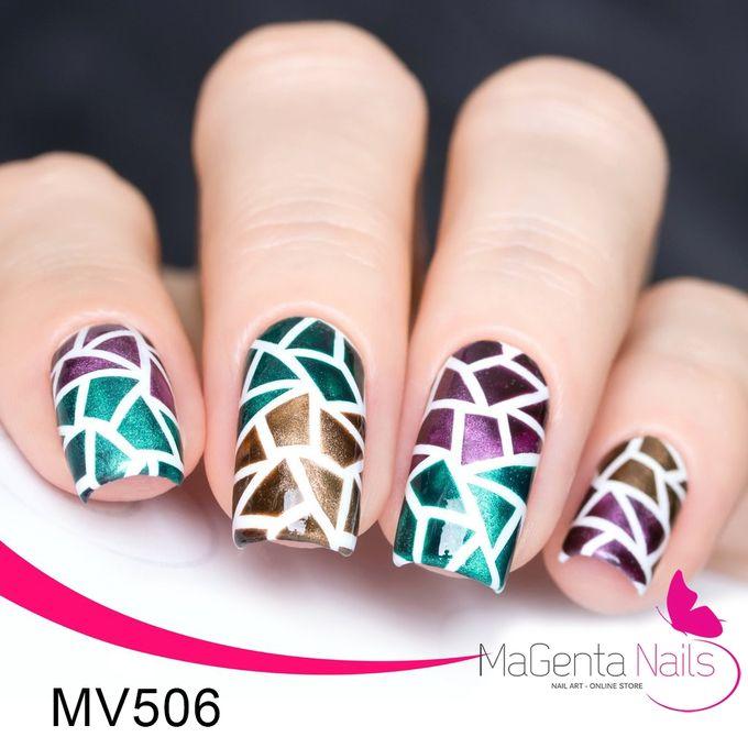 Sale on MaGenta Nails Nail Vinyl – MV506 Mosaic Stencils | Jumia Egypt