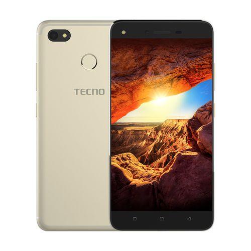 موبايل تكنو Tecno موبايل سبارك K7 -5.5 بوصة -16 جيجا بايت ثنائى الشريحة- ذهبى من جوميا