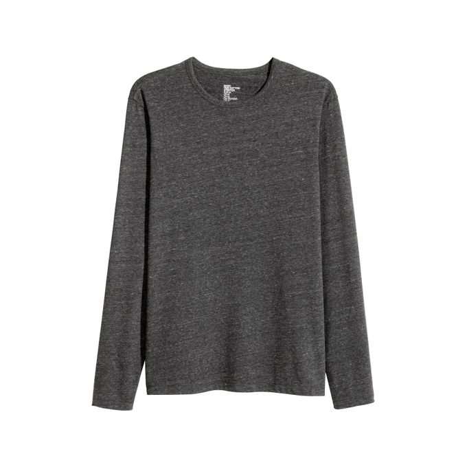 t shirt slim fit h&m