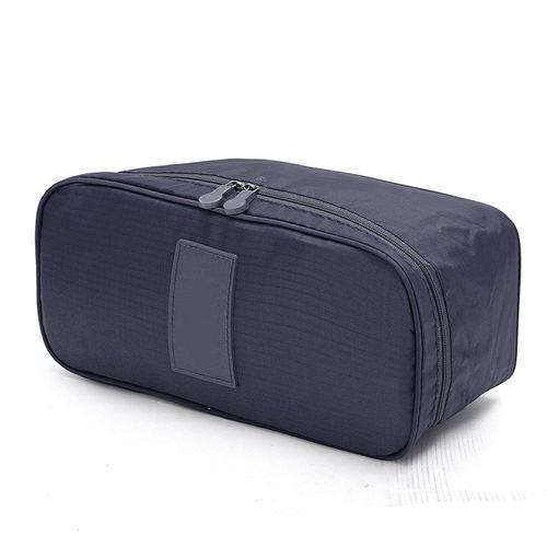 a7e8d688b Universal Women Multifunction Travel Cosmetic Bag Makeup Pouch Bra  Underwear Storage Case Navy Blue