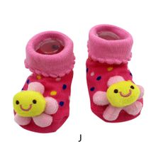 dbbca396a0b5e Cartoon Newborn Baby Girls Boys Anti-Slip Socks Slipper Shoes Boots for Baby